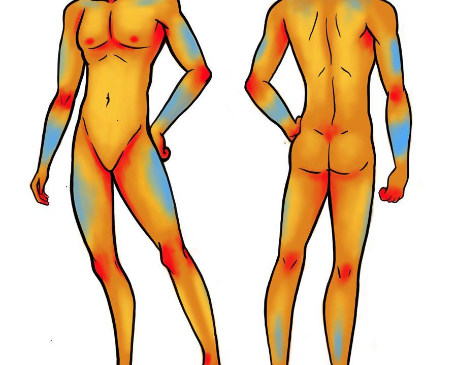 zonas donde duele más y menos un tatuaje